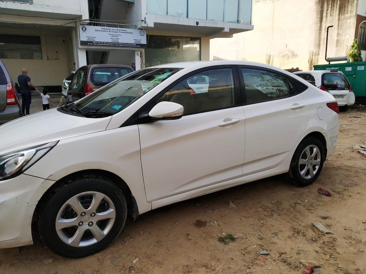 2014 Used Hyundai Verna 1.4 CX VTVT MT