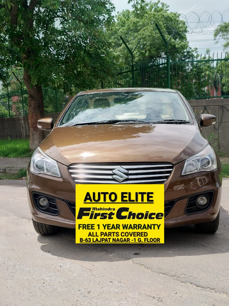 2017 Used Maruti Suzuki Ciaz ZXI PLUS AT
