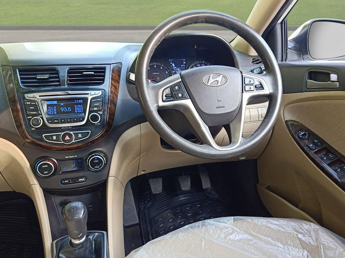 2017 Used HYUNDAI VERNA 1.6 VTVT S