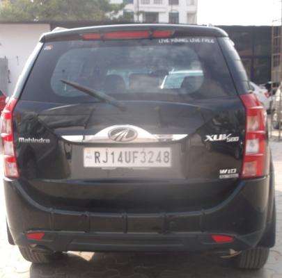 2017 Used Mahindra Xuv500(2017_2018) W10 AT