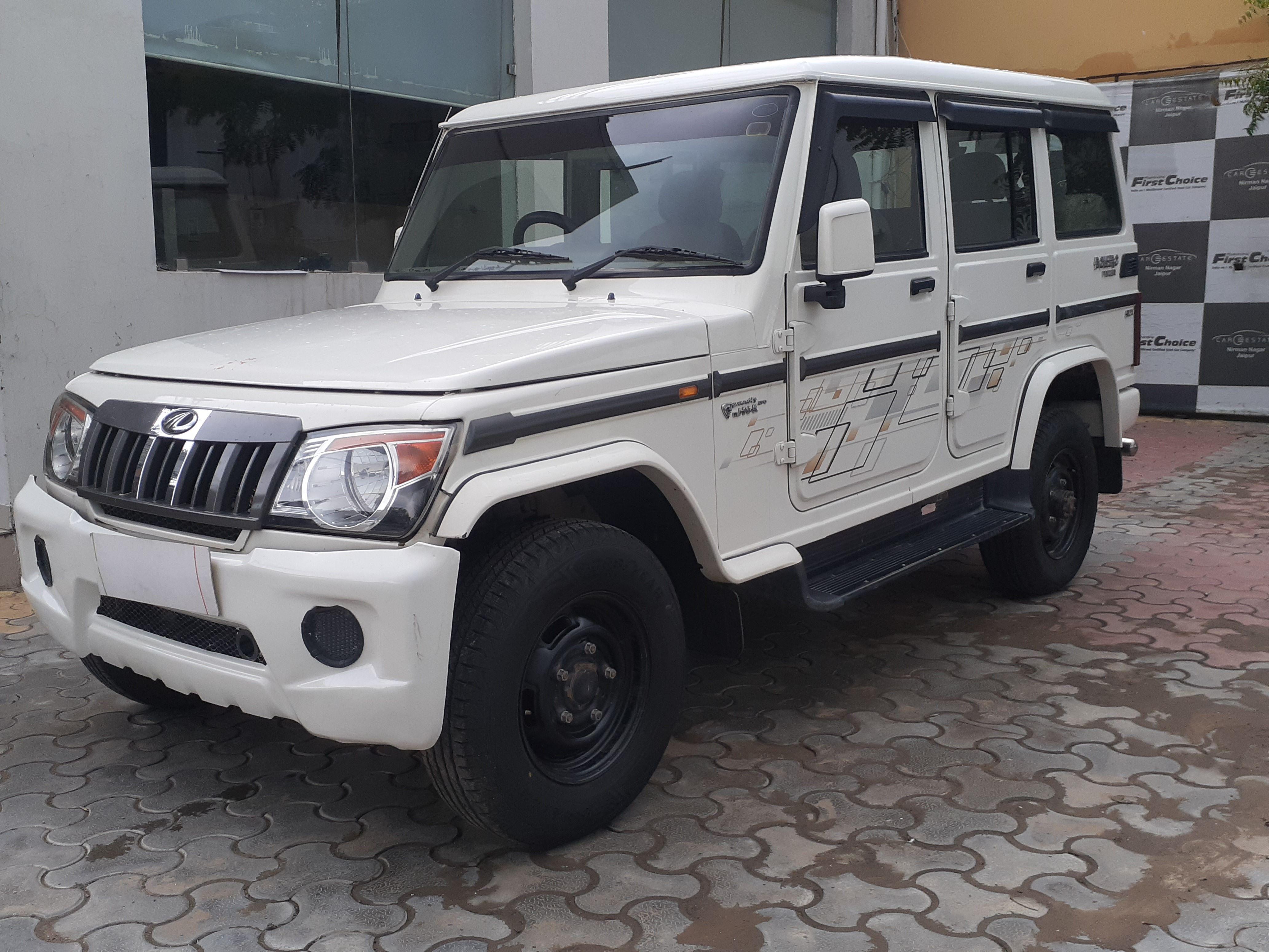 2019 Used Mahindra Bolero POWER PLUS SLX