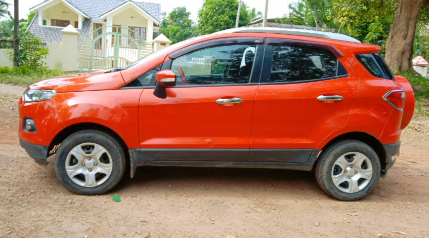 2014 Used FORD ECOSPORT TREND 1.5 TI VCT
