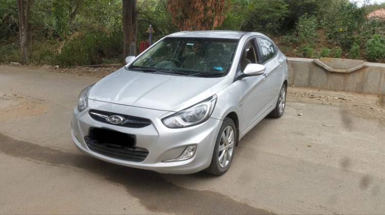 2013 Used HYUNDAI VERNA 1.6 SX VTVT AT
