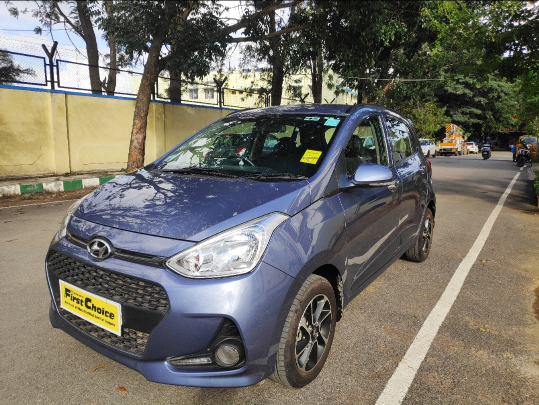2017 Used HYUNDAI GRAND I10 1.2 KAPPA ASTA O