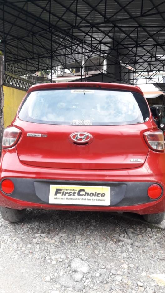 2017 Used Hyundai I10 MAGNA 1.2