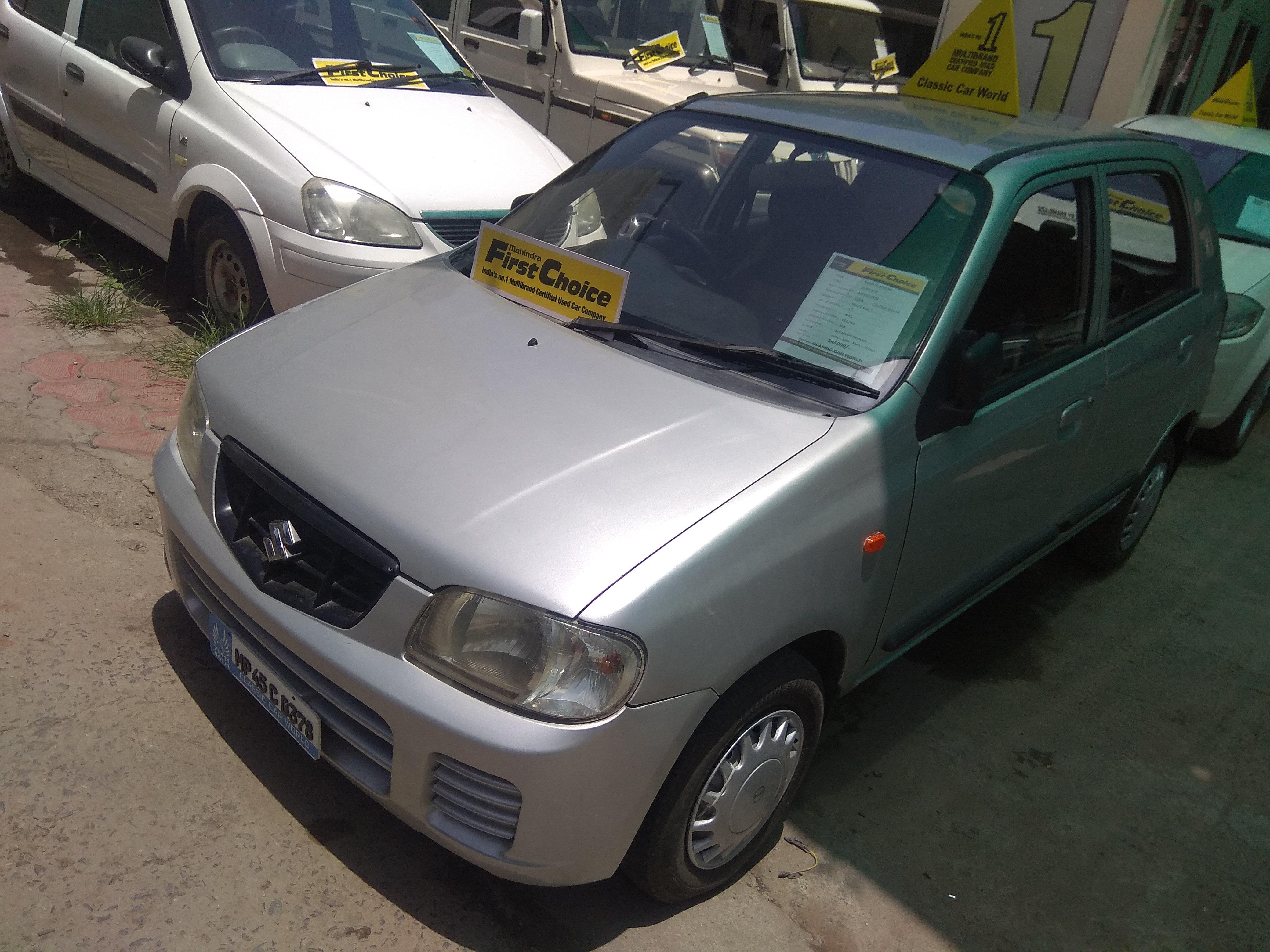 Used Maruti Suzuki Alto In Indore Mahindra First Choice