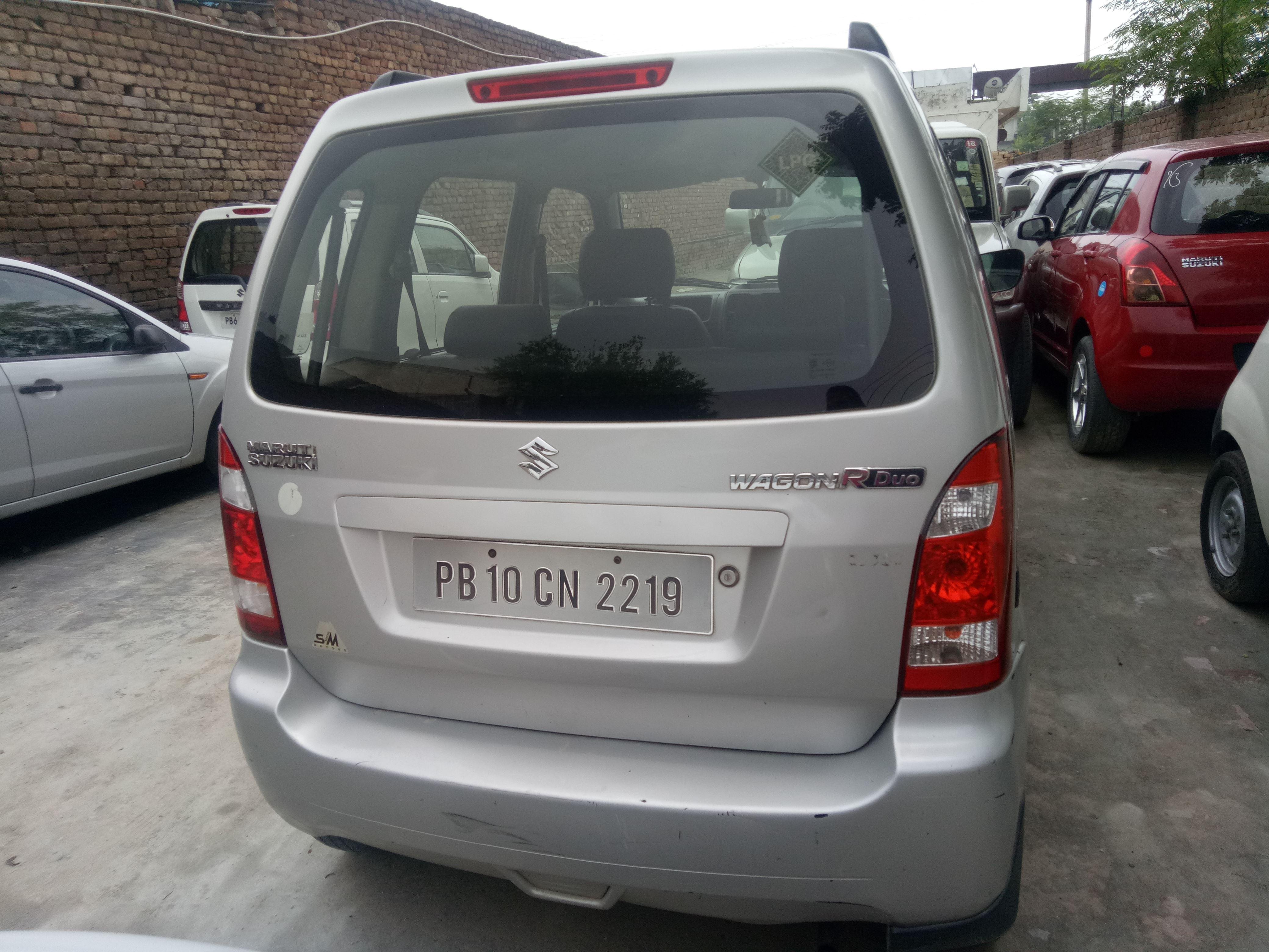 2009 Used Maruti Suzuki Wagon R Duo LXI LPG