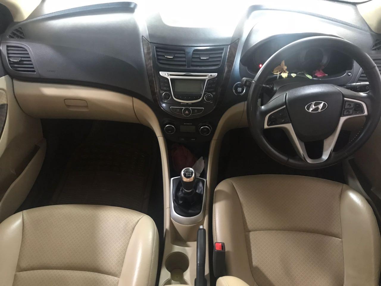 2013 Used Hyundai Verna FLUIDIC 1.6 SX CRDI OPT