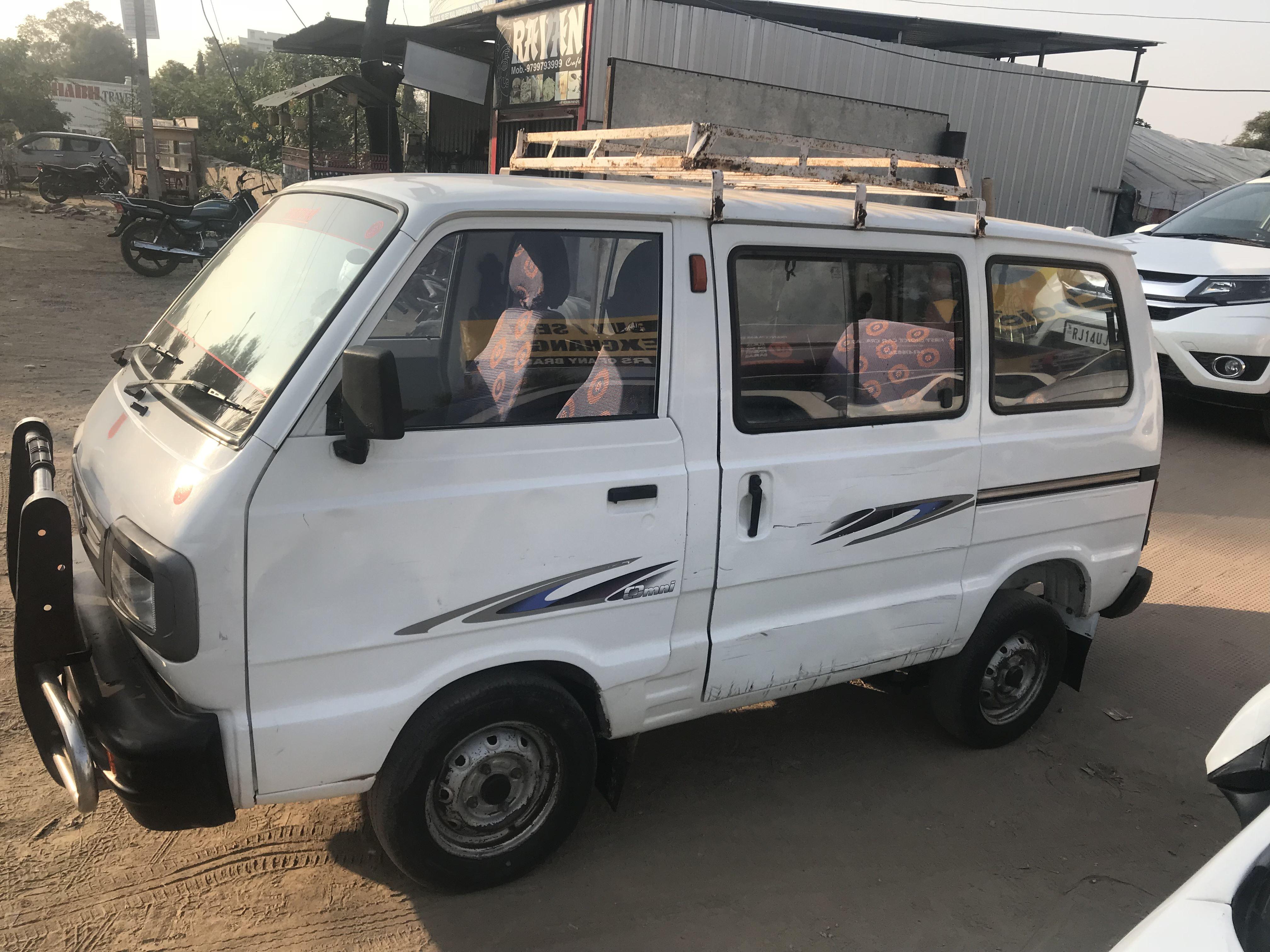 2012 Used Maruti Suzuki Omni 8 SEATER BS IV