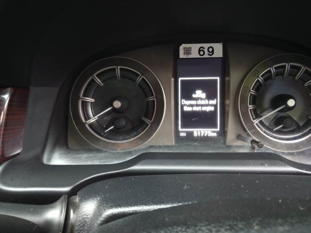 2017 Used Toyota Innova Crysta 2.4 VX 8 STR