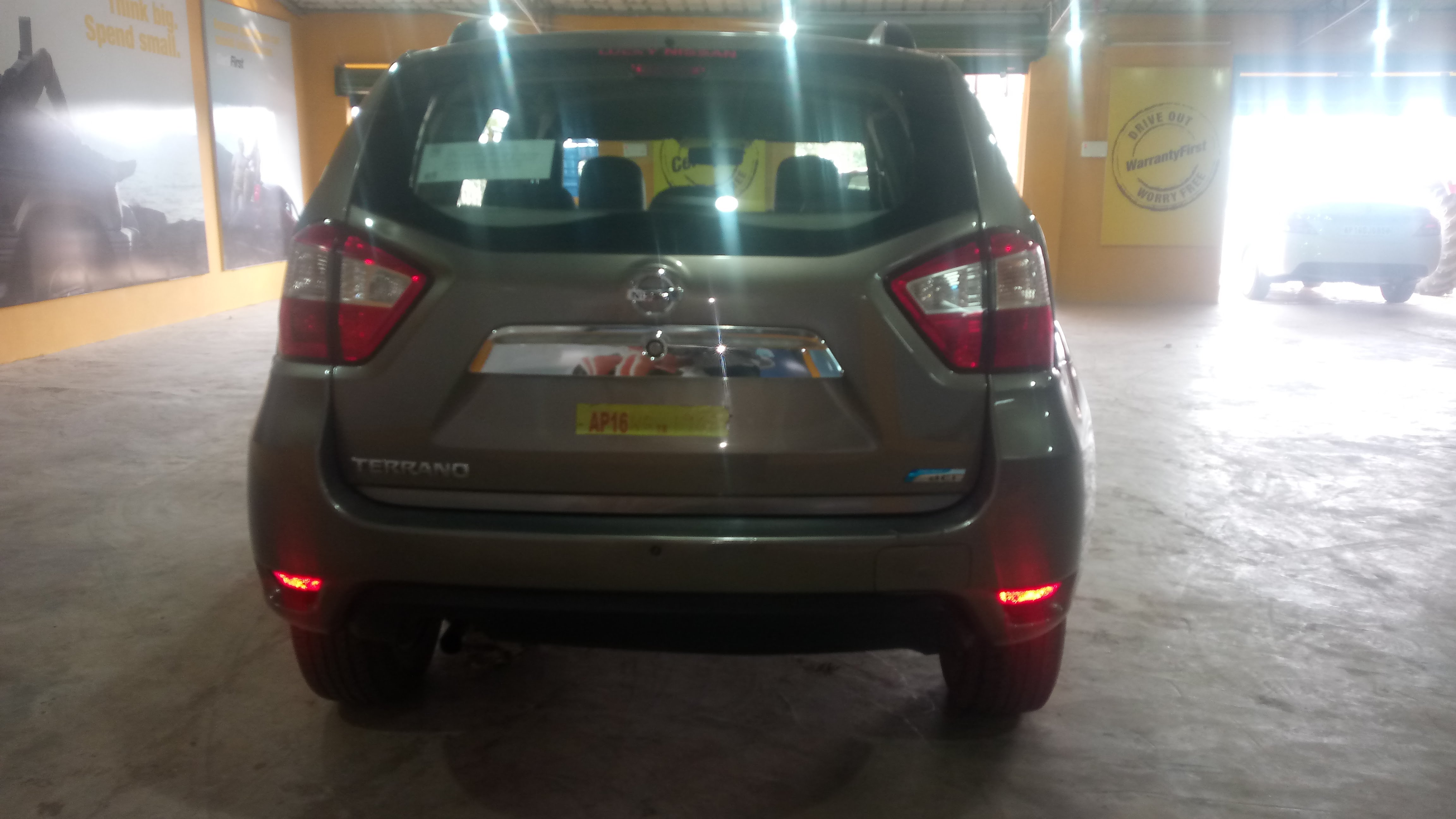 2016 Used Nissan Terrano XE D