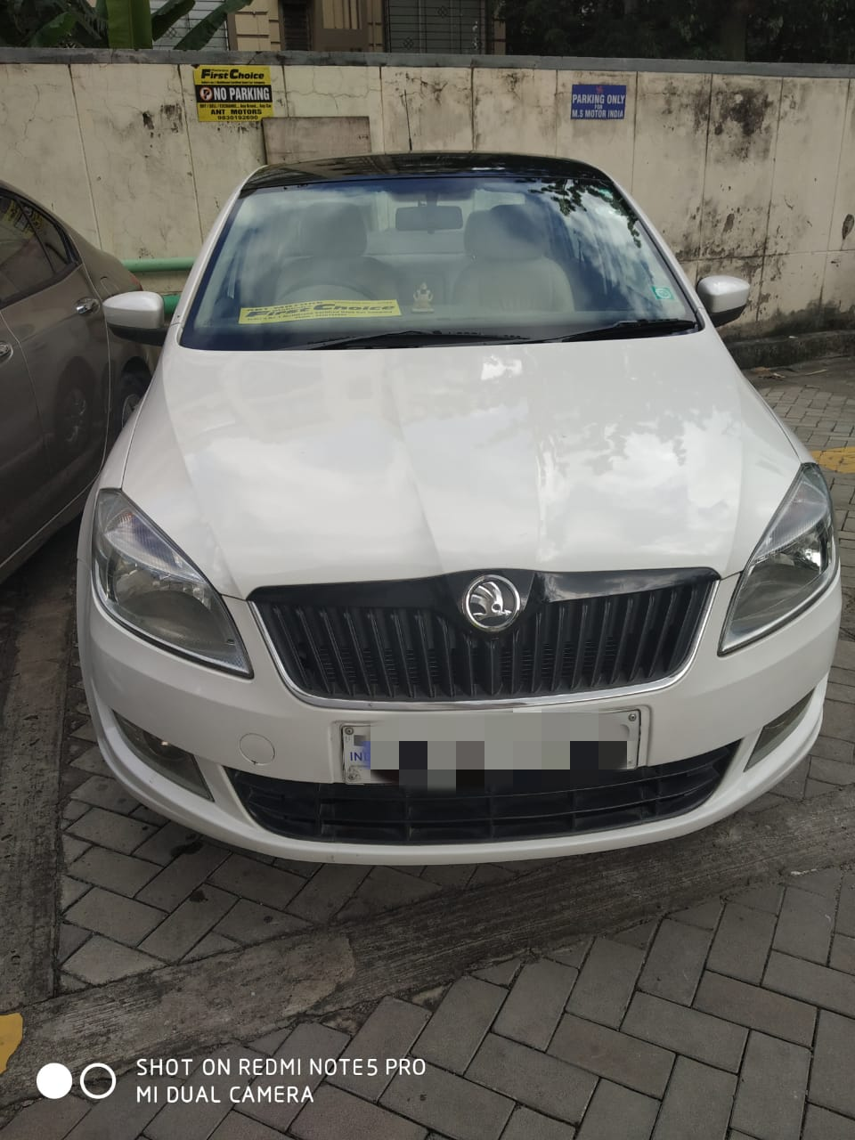 2012 Used Skoda Rapid ELEGANCE 1.6 MPFI AT