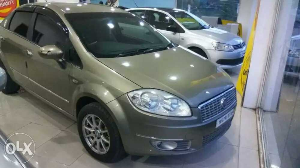 2011 Used Fiat Linea EMOTION 1.3