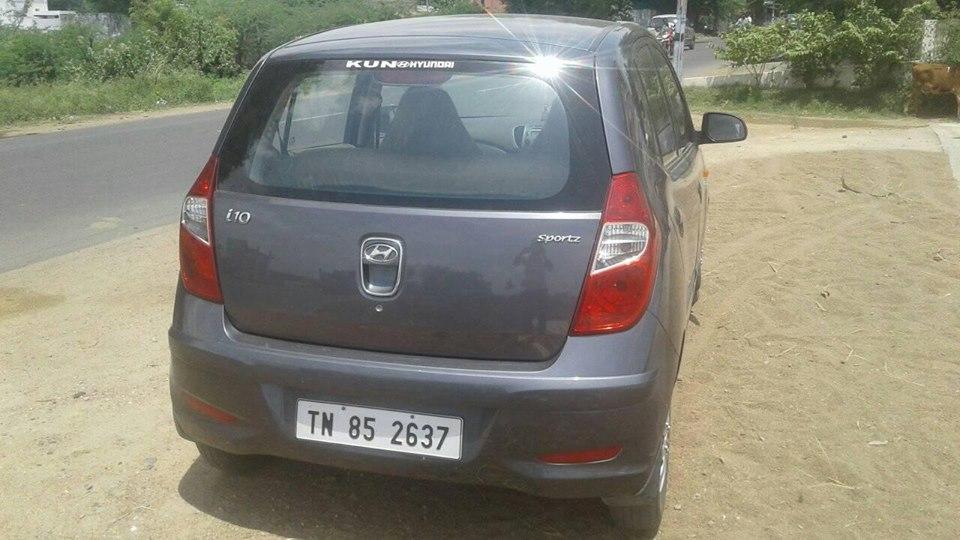 2014 Used Hyundai I10 SPORTZ 1.1 IRDE2