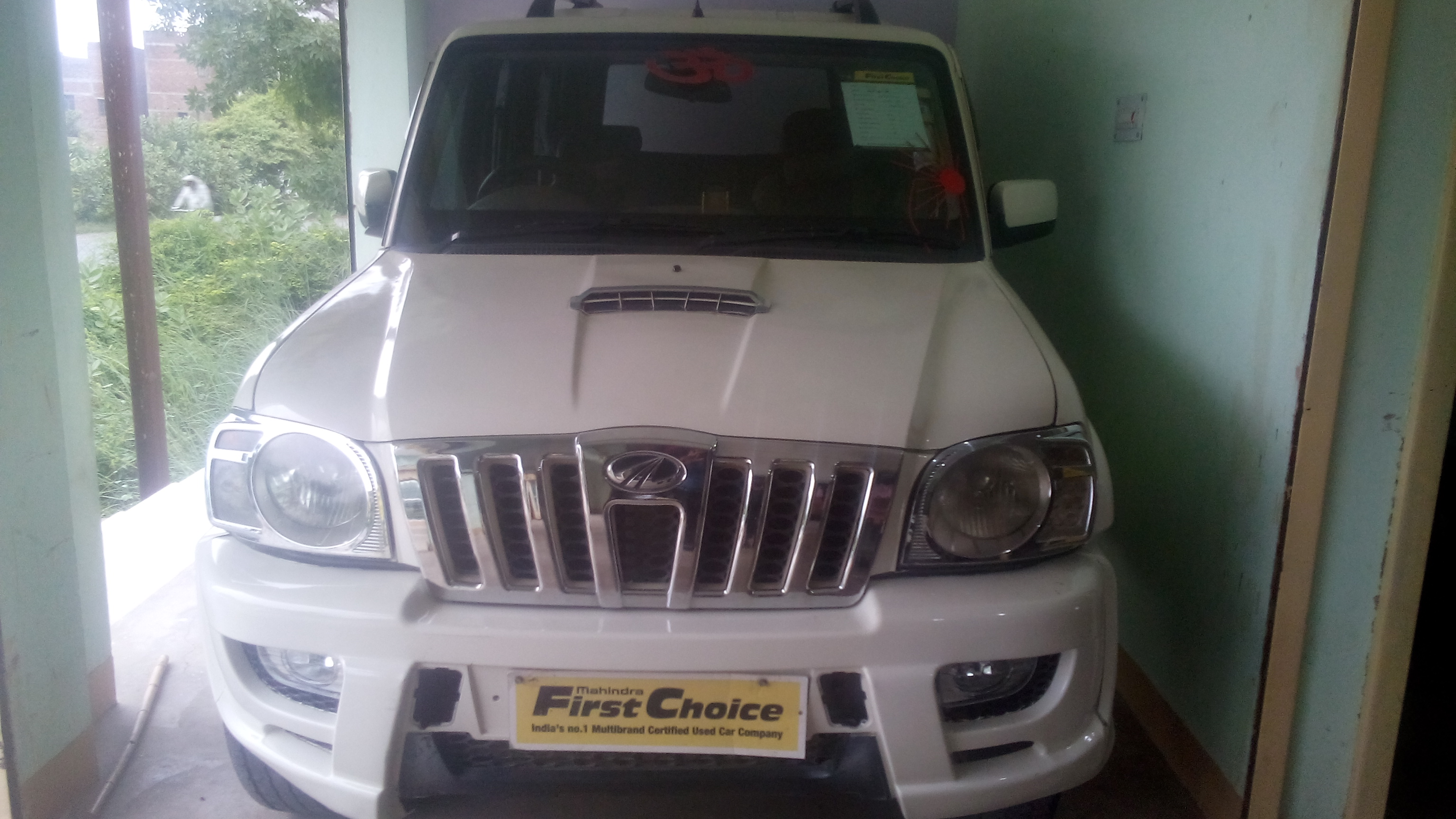 2012 Used Mahindra Scorpio VLX 4WD BS III