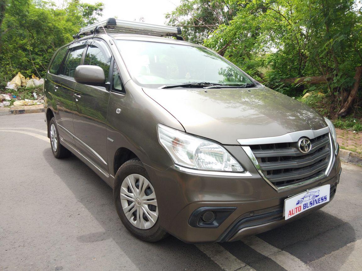 2014 Used Toyota Innova 2.5 GX 8 STR BS IV