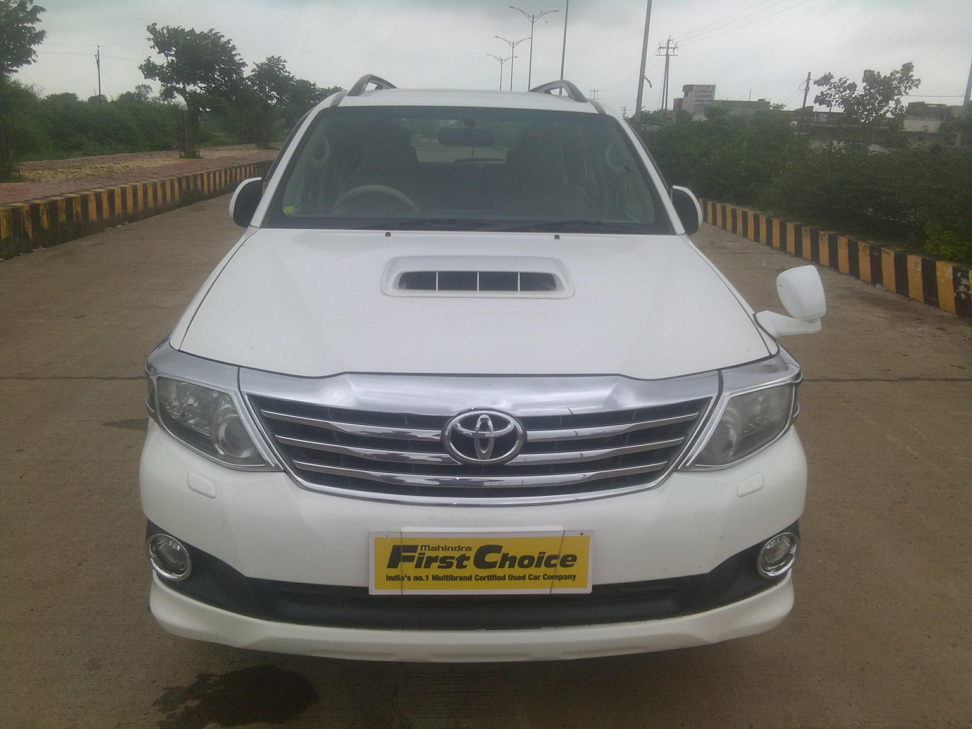 2012 Used Toyota Fortuner 3.0 MT 4X2