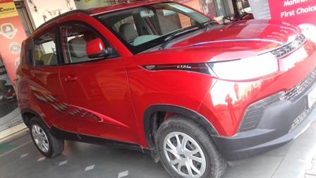 2016 Used Mahindra Kuv100 K6 5 SEATER DIESEL