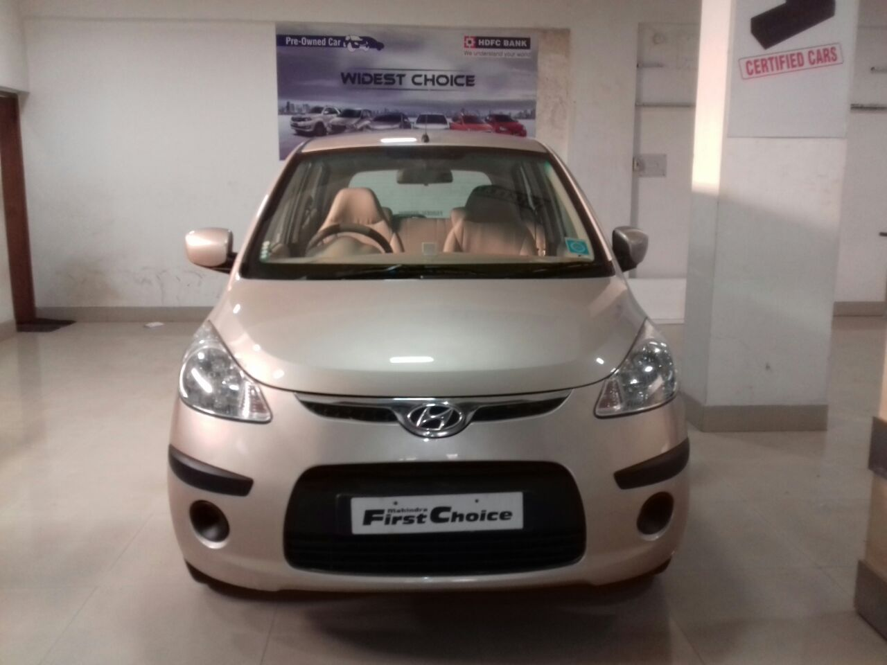 2010 Used Hyundai I10 SPORTZ 1.2 AT