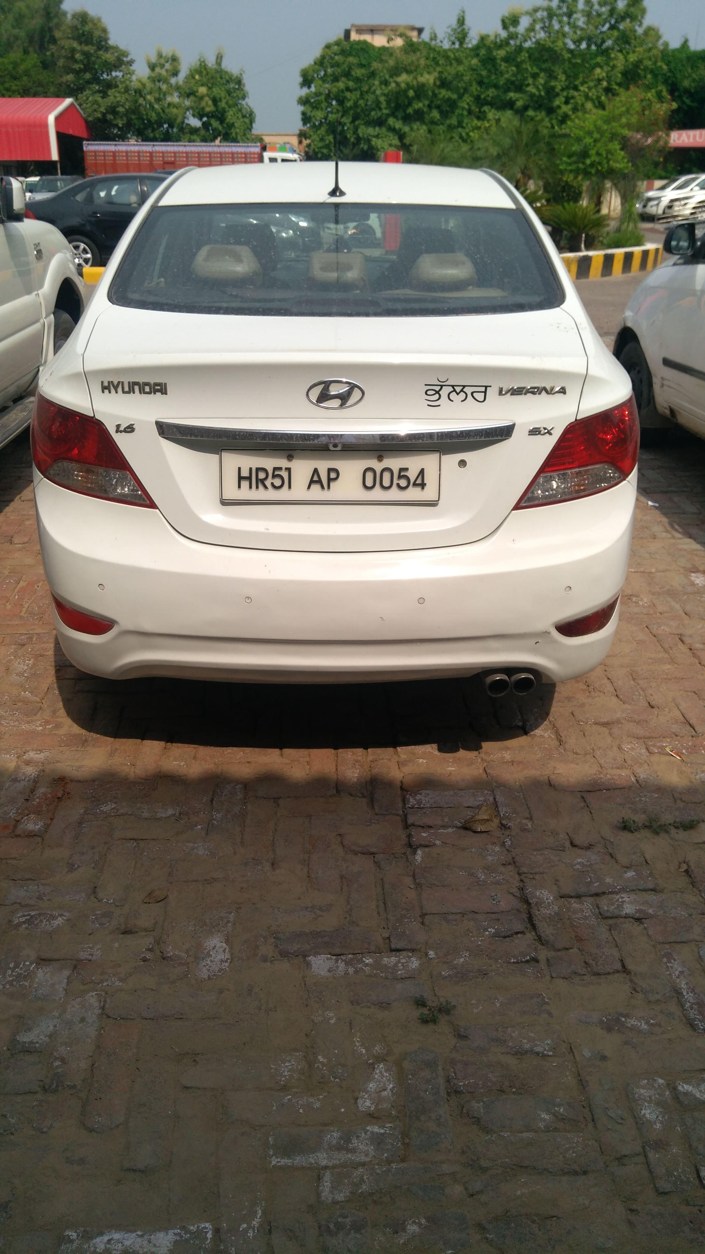2012 Used Hyundai Verna FLUIDIC 1.6 SX CRDI