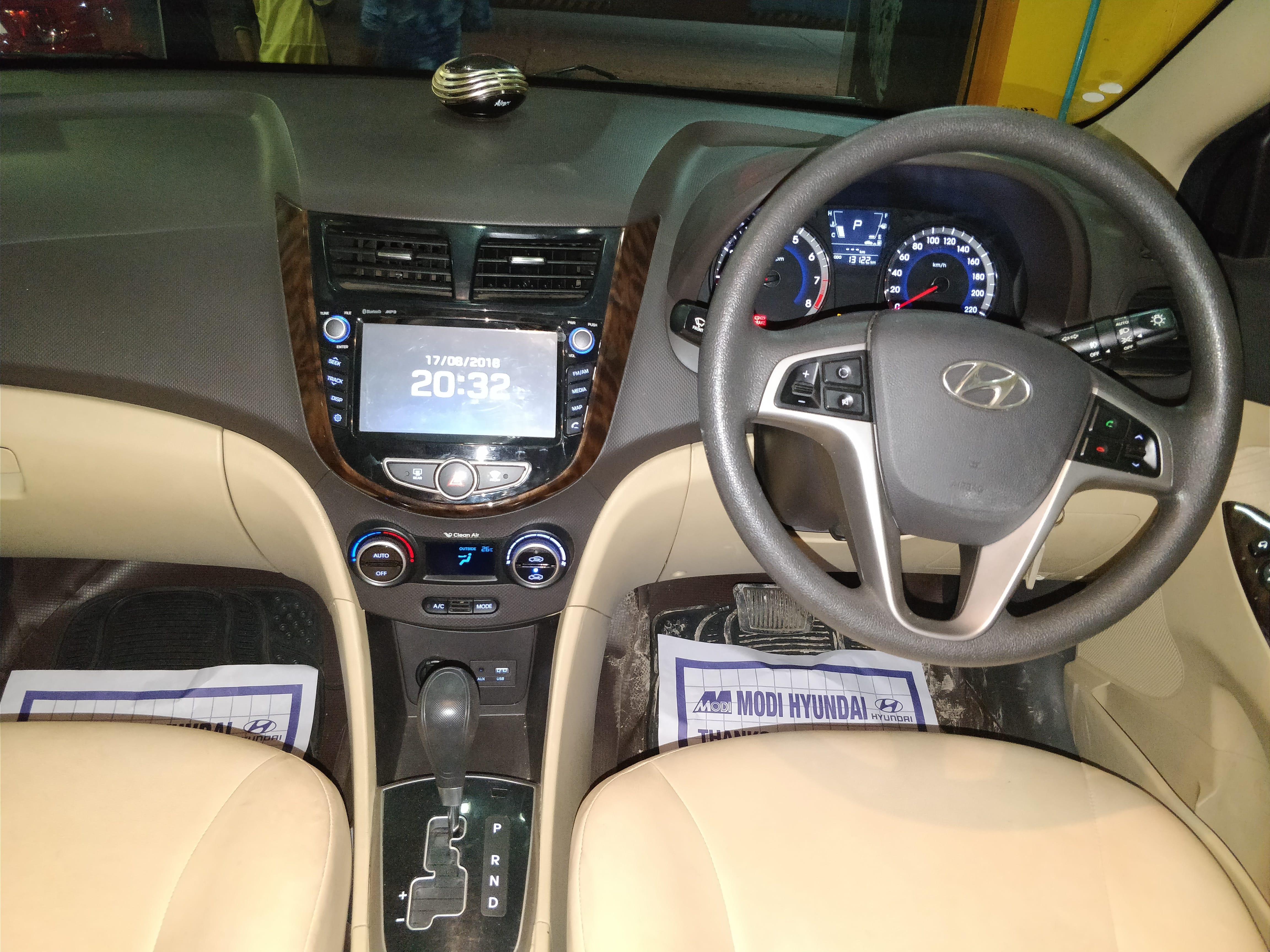 2017 Used Hyundai Verna FLUIDIC 1.6 SX VTVT