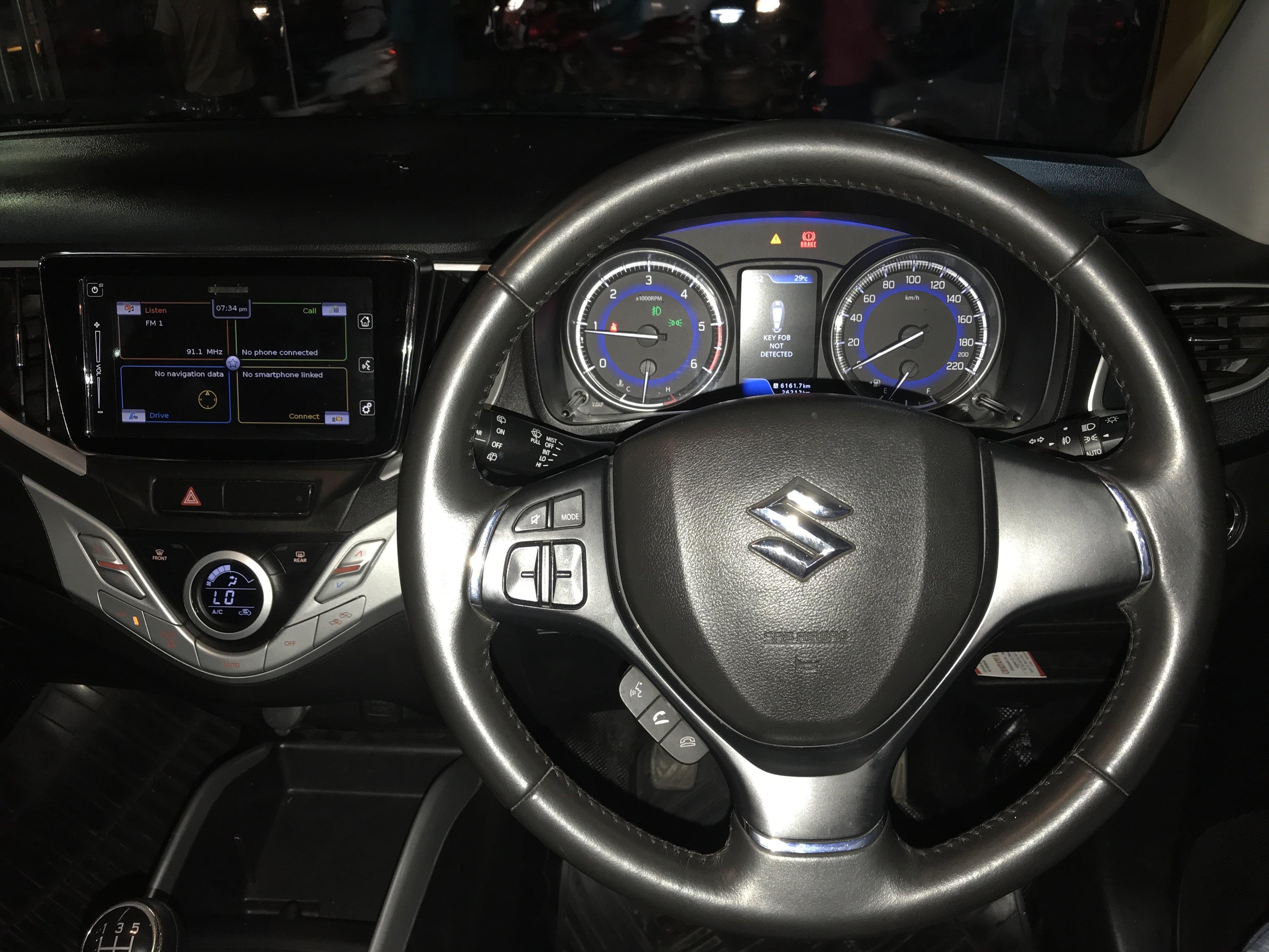 2016 Used Maruti Suzuki Baleno ALPHA