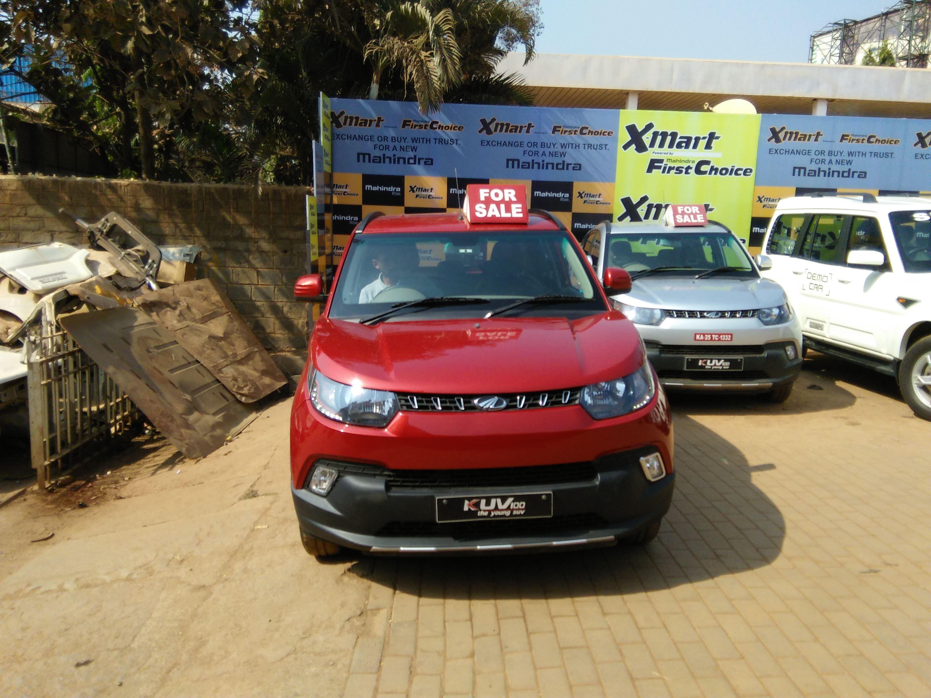 2016 Used Mahindra Kuv100 K8 5 SEATER PETROL