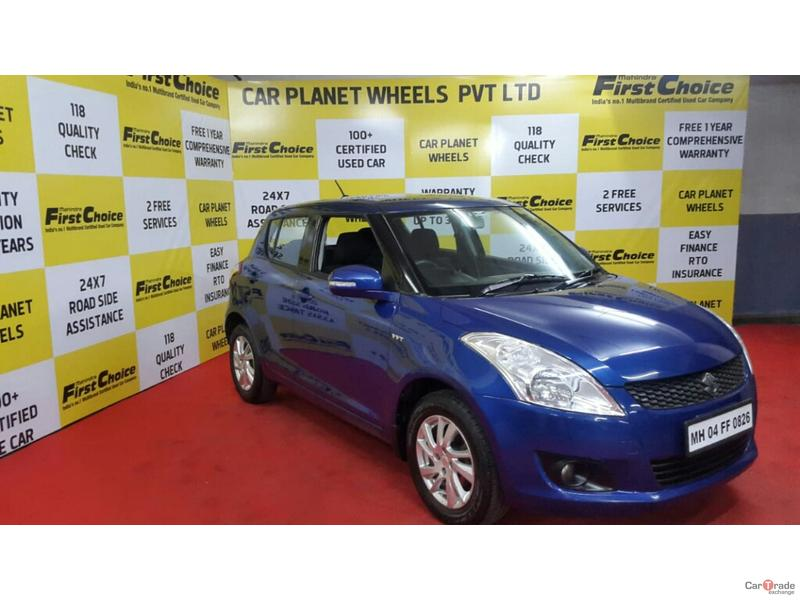 2012 Used MARUTI SUZUKI SWIFT ZXI