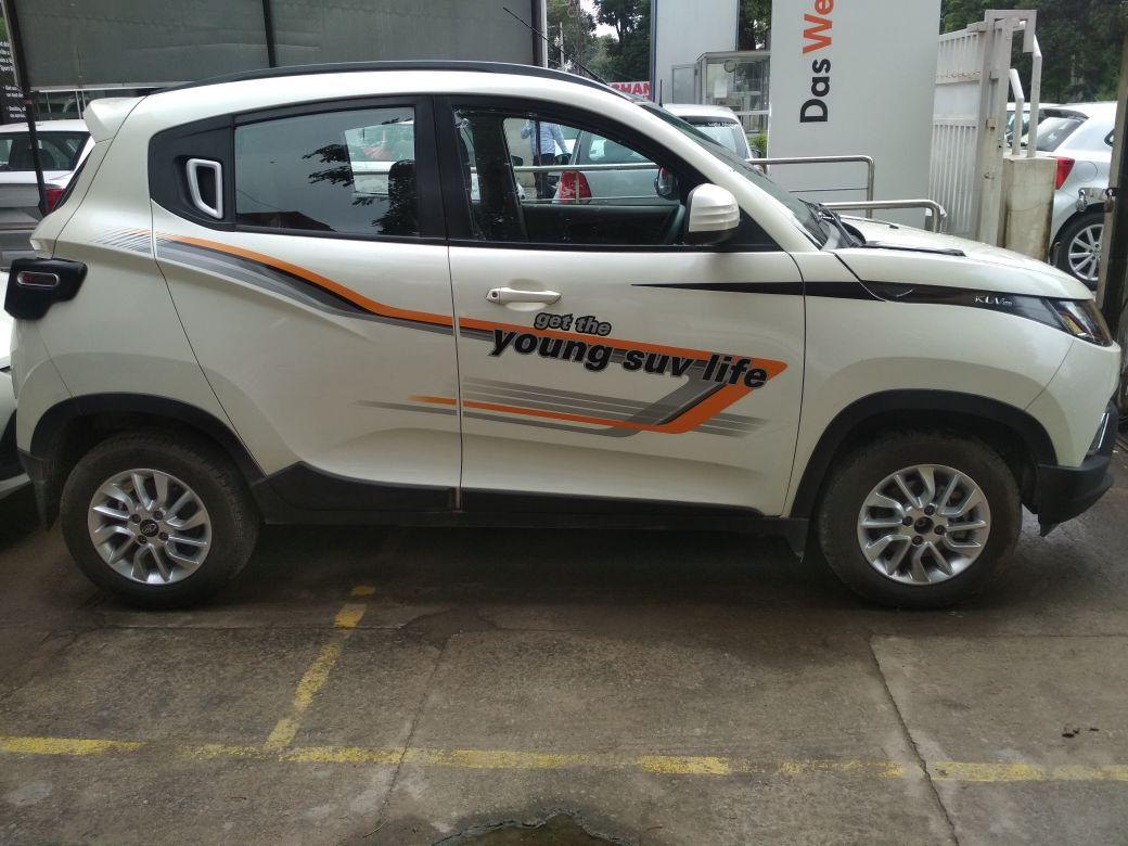 2015 Used Mahindra Kuv100 K8 5 SEATER PETROL