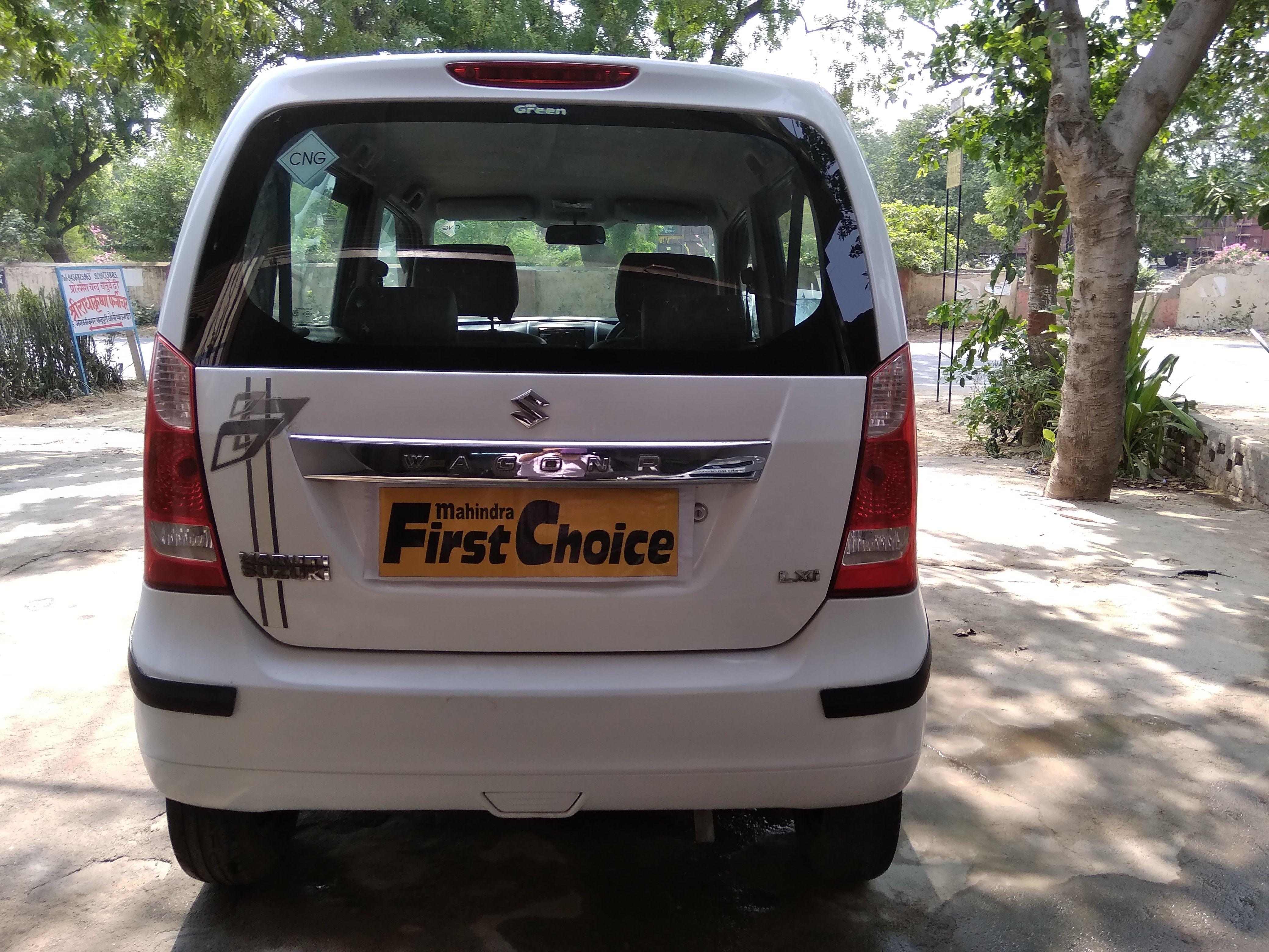 2012 Used Maruti Suzuki Wagon R 1.0 LXI CNG