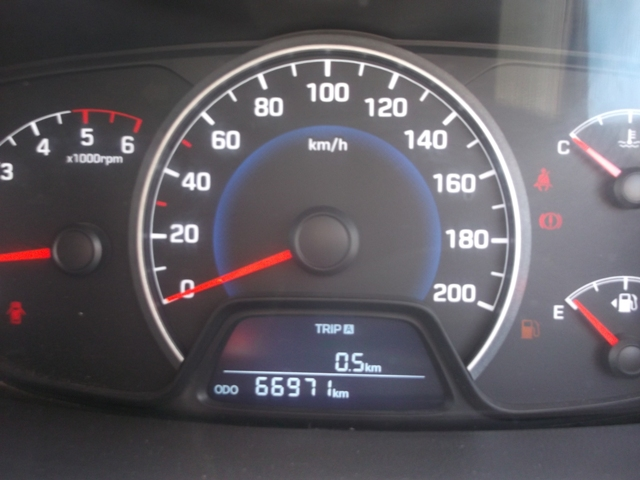2016 Used Hyundai Grand I10 SPORTZ 1.1 CRDI