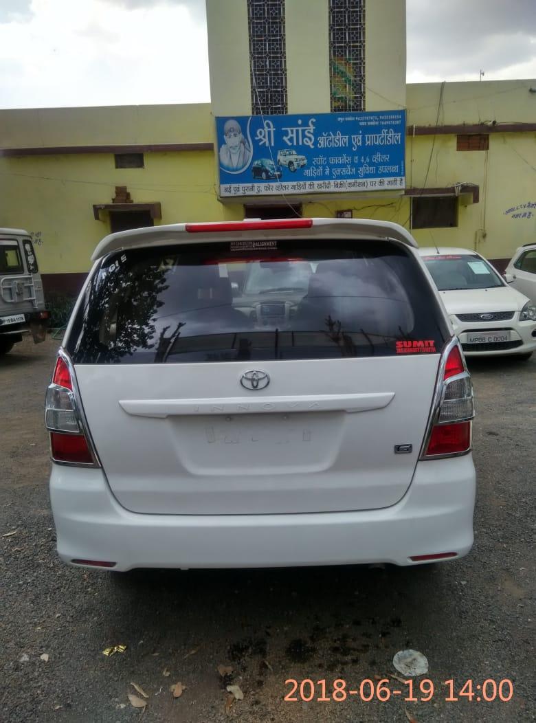 2014 Used Toyota Innova 2.5 G 7 STR BS III